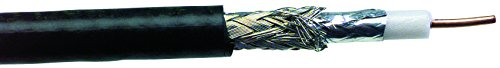 STRUCTURED CABLE - RG6/U-BC-BK-5 - Coaxial Cable Type:RG6