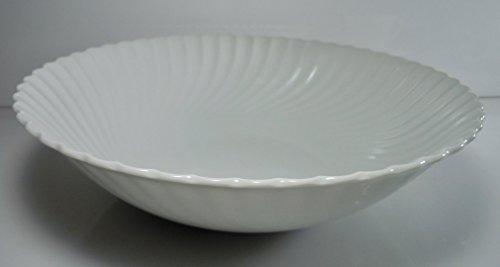 Kaiser Nicole Swirl White Round Vegetable Bowl 9 -