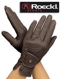 Chester Glove Roeckl (Roeckl Child Chester / Kalino Riding Glove [Black, Size 4])