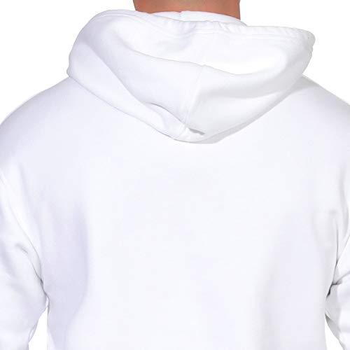 Hoodie Pull Sweat L Levis Oversized 56629 Blanc H FUtUqxI