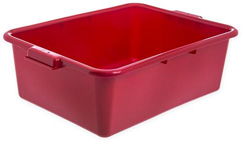 (Carlisle N4401105 Comfort Curve Ergonomic Wash Basin Tote Box, 7