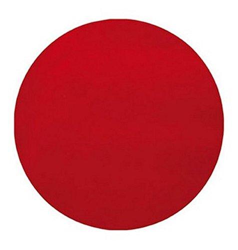 Chal - Mural 50 manteles individuales de mesa redondas rojo ...