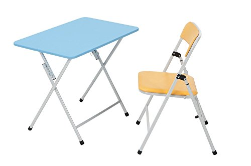 COSCO Kids 2pc Activity, Table and Chair, Orange Chair, Blue