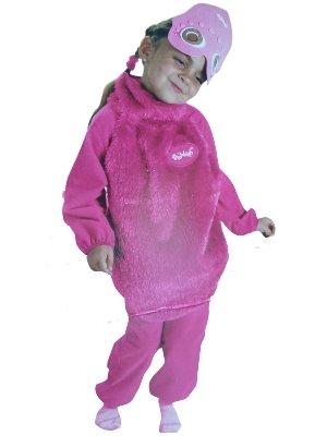 (Kids Pink Boohbah Costume 1-2)