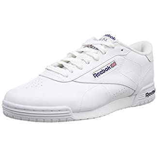 Reebok Herren Exofit Lo Clean Logo Int Low-Top, Weiß (int-white/royal Blue/royal Blue), 41 EU 1