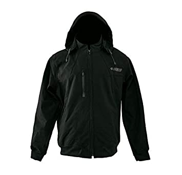 Zerimar KENROD Chaqueta con capucha en neopreno Modelo softshell con forro transpirable Color negro Talla S