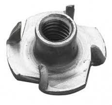Einschlagmuttern, M8 x 11,0 mm, keine zusä tzliche Fä rbung, 10 Stü ck AHC 5053440572779