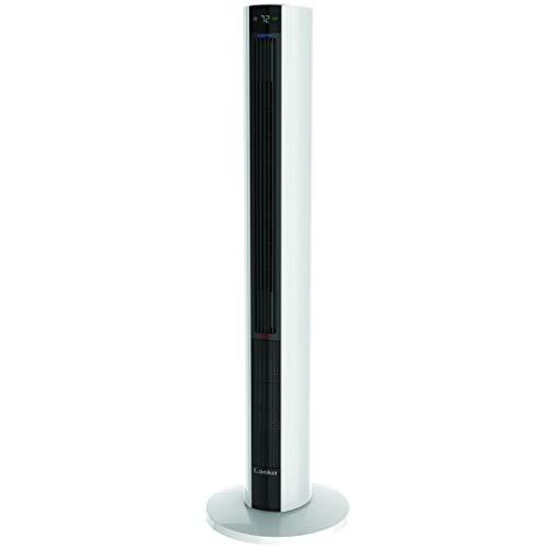 Lasko Fan & Space Heater Combo Tower, 42 inch, Silver FH500