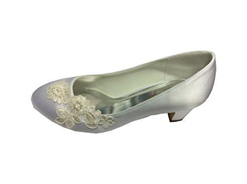 Sintético Vestir Crinoligne Material Marfil Zapatos De Mujer IqZx0x74w