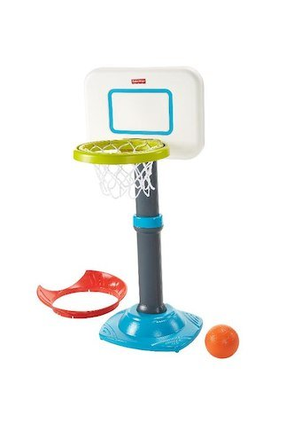 Fisher-Price Grow to Pro Basketball Junior Set (Fisher Price Basketball Hoops)