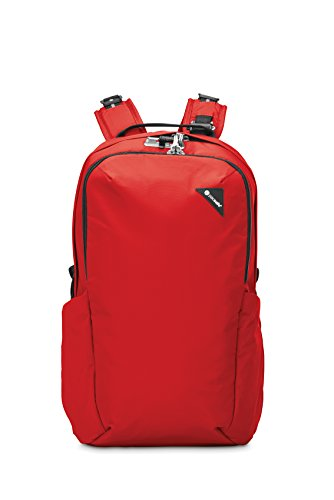 Pacsafe Unisex-Erwachsene Vibe 25 Anti-Theft 25l Backpack Rucksack Rouge/300