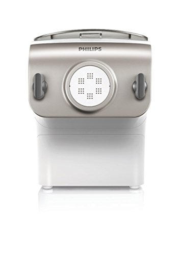Philips Pasta and Noodle Maker with 4 Interchangeable Pasta Shape Plates - HR2357/05