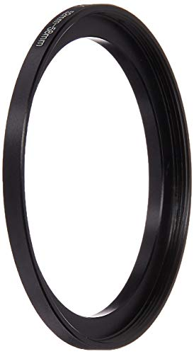 Fotodiox Metal Step Up Ring, Anodized Black Metal 52mm-58mm, 52-58 mm