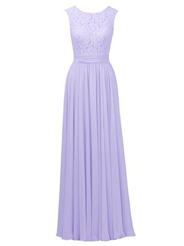 Lilac Wedding Dress - 9