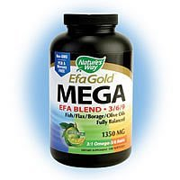 Nature'S Way Mega 3/6/9 Blend 1350Mg 180 Sgel