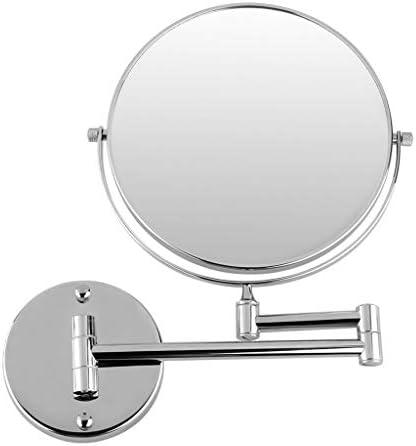 壁は浴室鏡を、マウントされた8インチシェービング用ミラースイベル1 / 3X拡大鏡可変アーム360度スイベル
