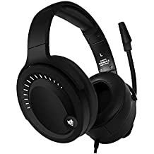 NUBWO Gaming Headset, Over-Ear Stereo Gaming Headphones with Uni-Directional Microphone for PC, Computer, Laptop, PS4, Xbox One, Nintendo Switch, Mac, iPad