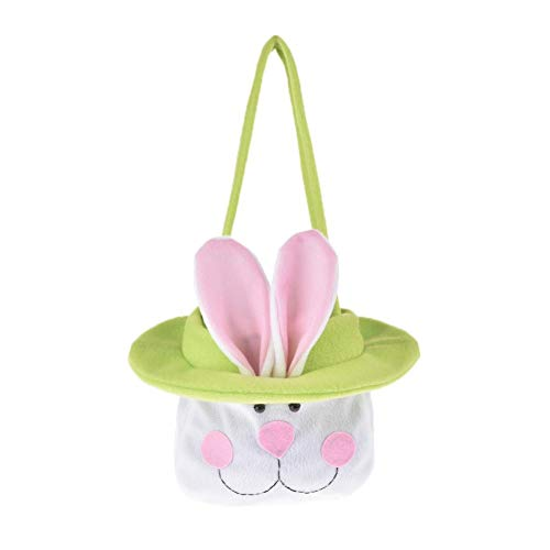 total-shop Organza Gift Bags Drawstring Pouches Party Wedding Favor Gift Bags Bunny Candy Bag Gift Bag Easter ()