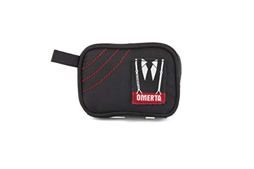Omerta Pouch - Smell Proof Zippered Bag w/Carbon Filter Technology   Odor and Smell Proof - Discreet and Sleek Design (5 inch with Lock) ()