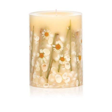 Rosy Rings Round Botanical Candle - Beach Daisy (Candle Scented Daisy)