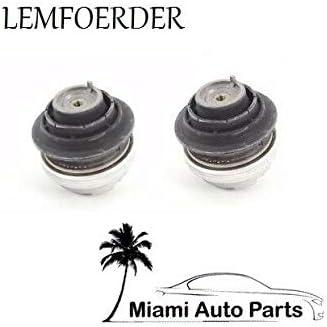 2 OEM Left+Right Engine Motor Mounts Bushings Support Mountings Set for Mercedes