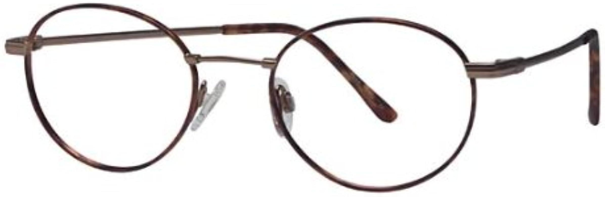 b692426dca12 Amazon.com: Flexon Autoflex 53 Eyeglasses 215 Tortoise/Bronze Demo 52 19  145: Clothing