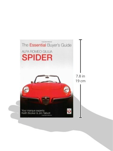 Alfa Romeo Giulia Spider: The Essential Buyers Guide: Keith Booker, Jim Talbott: 9781904788980: Amazon.com: Books