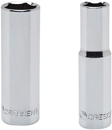 Crescent CDS15 1//4 Drive 8mm Standard Length Socket 6 Point