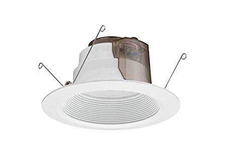 lithonia lighting 6 p series led m6 white baffle recessed downlight