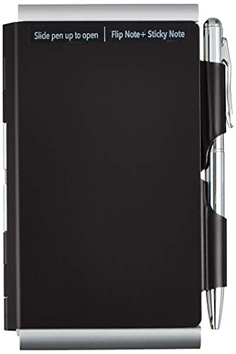 Wellspring Double Sided Flip Note, Black (2354)