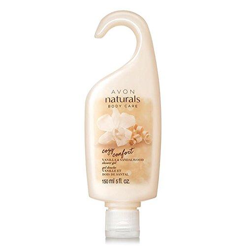 Avon Naturals Cozy Comfort Vanilla & Sandalwood Shower Gel