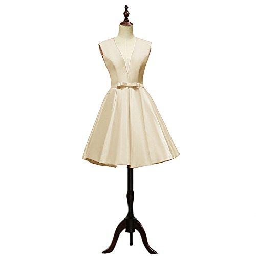 Vimans Damen A-Linie Kleid elfenbein elfenbeinfarben 40 CLeUhNsS1z
