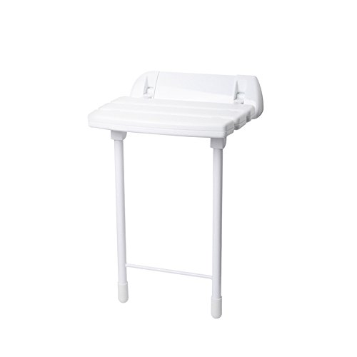 Shower Folding Chair/Folding Wall Stool White/Wall Chair/Old People Handicapped Shower Wall Chair/Bath Stool/Aisle Chair/Walking Wall Chair/Folding Stool/Loading Capacity (Aisle Walking)
