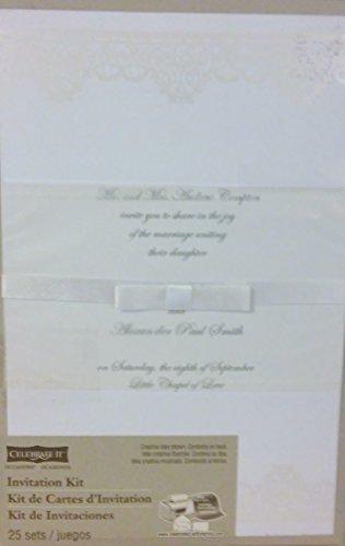 Amazon Com Celebrate It Invitation Kit Wedding Or Any Special