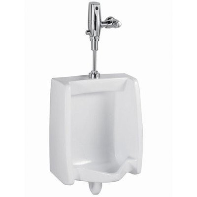 American Standard 6501.610.020 Washbrook Top Spud Urinal with 1.0 Gpf Selectronic Flush Valve by American Standard
