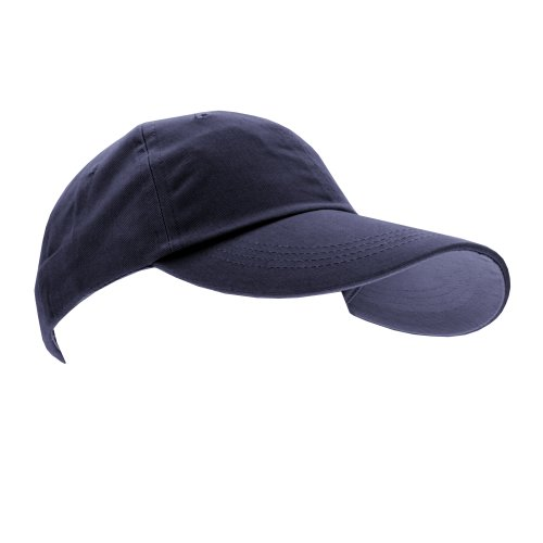 Anvil Unisex Contrast Low Profile Twill Baseball Cap/Headwear (One Size) (Navy)