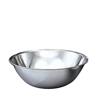 Vollrath Company Vollrath 47933 3-Quart Economy Mixing Bowl, Stainless Steel, Silver
