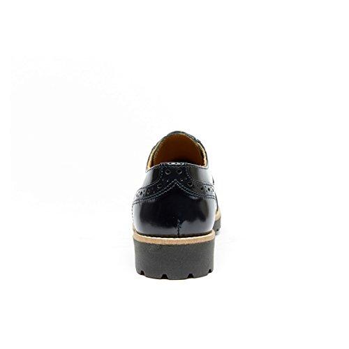 Lacets Bleu Daniel Derby Pour de Femme Ville à Chaussures Bleu Frank YS4qS
