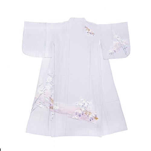 砲兵かりて早く浴衣 単品 パープル 夏祭り S 、M(フリー) 可愛い 花柄 女性浴衣 レデイース 花火大会