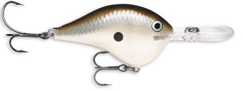 Rapala Dives-To 04 Fishing lure, 2-Inch, Pearl Grey Shiner