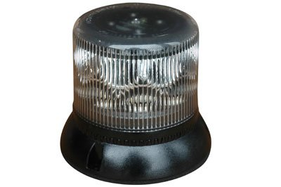 10.2 Watt Single LED Strobing Beacon - Surface Mount - White, Blue, Red, Amber - High Output Strobe(