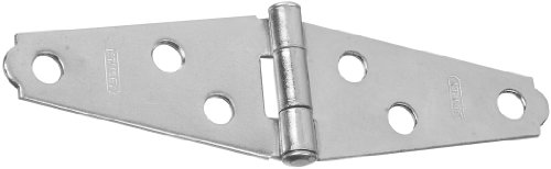 (Stanley Hardware S140-160 DP900 Light Strap Hinges in Zinc plated, 2 pack)