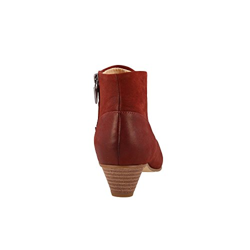 Clarks 26133880 Clay Botin Rust Rojo Mena rqCrnTwF