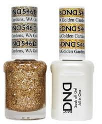 Daisy DND - Gelcolor and Matching Nail Polish color set  by