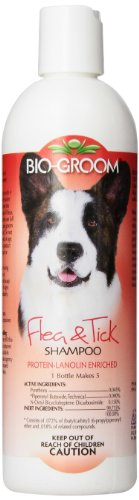 (Bio-Groom Flea and Tick Dog/Cat Conditioning Shampoo, 12-Ounce)