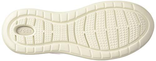 Crocs Women's LiteRide Pacer Sneakers, Electric Pink, 6 Women