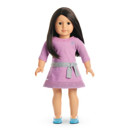 American Girl - Truly Me™ Doll: Light Skin, Black-Brown