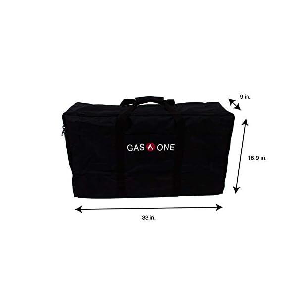 GasOne B-5000+50460 Propane Double Burner & Carry Bag 2 Burner Gas Stove Outdoor 5
