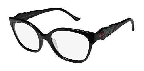 judith-leiber-1676-womens-ladies-cat-eye-full-rim-eyeglasses-eyewear-52-18-140-black