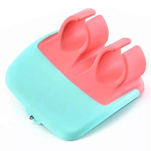 (NPYPQ Finger Peeler, Hand Swivel Palm Fruit Peeler Vegetable Peeling with Ergonomic Rubber Finger Grip )